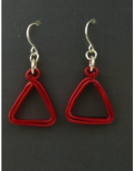 Geo Triangles Red