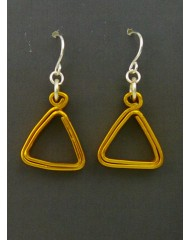 Geo Triangles Gold