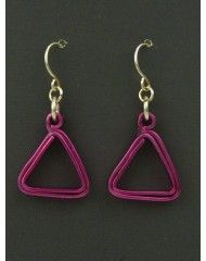 Geo Triangles Pink